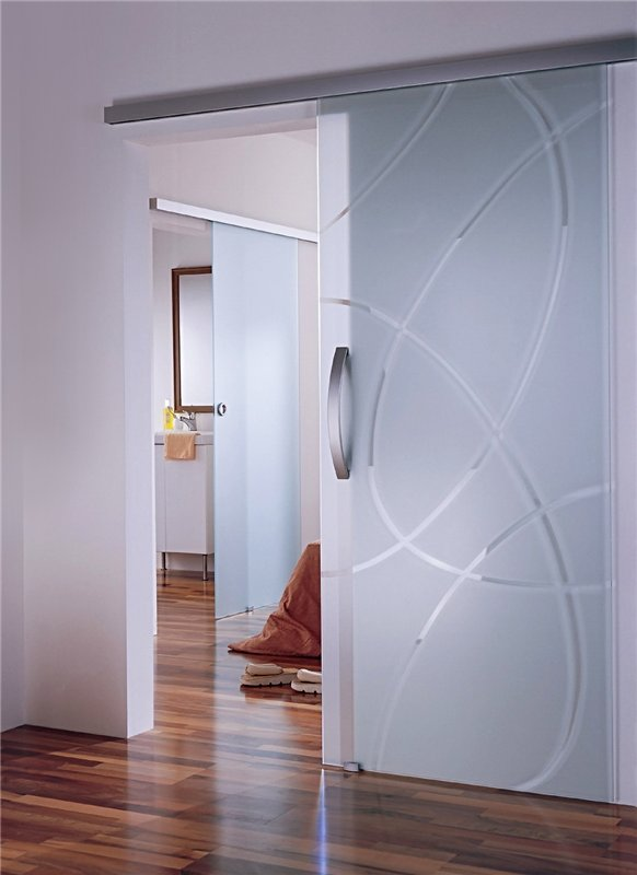 стеклянные двери межкомнатные фото цены