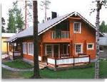 Деревянные финские дома из клееного.